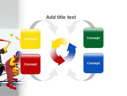Clowns PowerPoint Template Slide 6