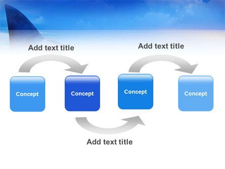 Shark PowerPoint Template, Slide 4, 02483, Animals and Pets — PoweredTemplate.com