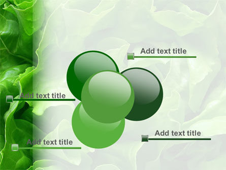 Lettuce PowerPoint Template Slide 10