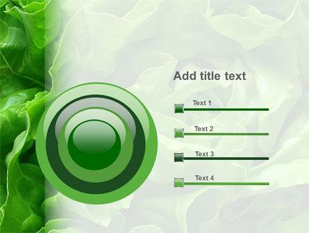 Lettuce PowerPoint Template Slide 9