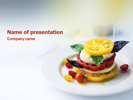 Food & Beverage: Vegetables PowerPoint Template #02486