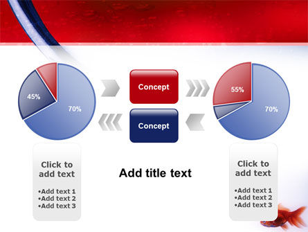 Red Fish PowerPoint Template Slide 11