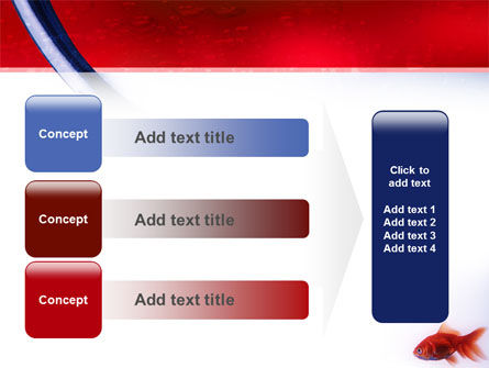 Red Fish PowerPoint Template Slide 12
