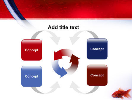 Red Fish PowerPoint Template Slide 6