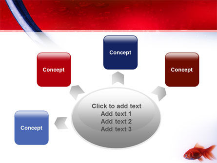 Red Fish PowerPoint Template Slide 7