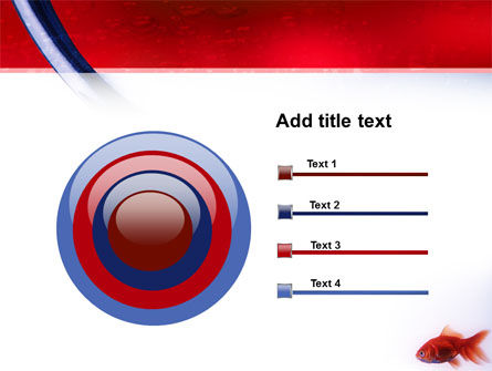 Red Fish PowerPoint Template Slide 9