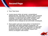 Red Fish PowerPoint Template#2