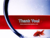 Red Fish PowerPoint Template#20
