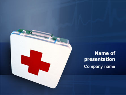 Medical: First Aid PowerPoint Template #02490