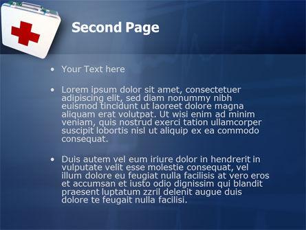 First Aid PowerPoint Template, Slide 2, 02490, Medical — PoweredTemplate.com