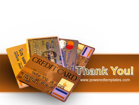 Plastic Credit Card PowerPoint Template Slide 20