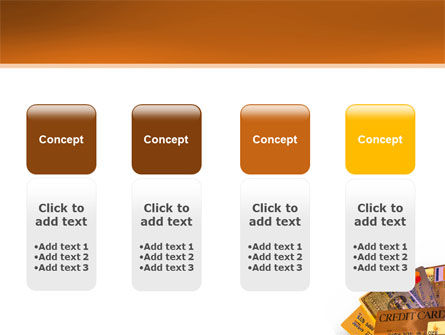 Plastic Credit Card PowerPoint Template Slide 5