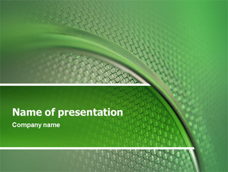Wire Mesh PowerPoint Template