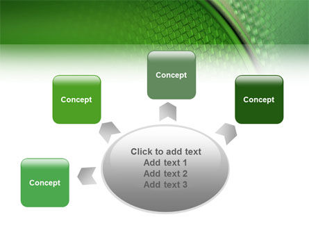 Wire Mesh PowerPoint Template Slide 7