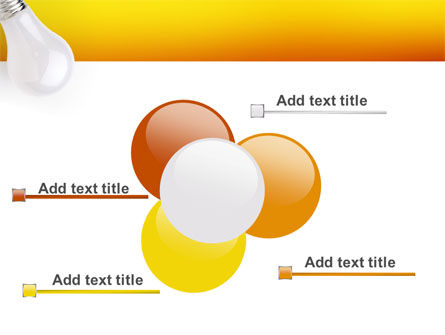 Lamp PowerPoint Template Slide 10