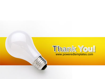 Lamp PowerPoint Template Slide 20