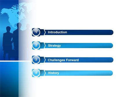 Globalization PowerPoint Template, Slide 3, 02495, Global — PoweredTemplate.com