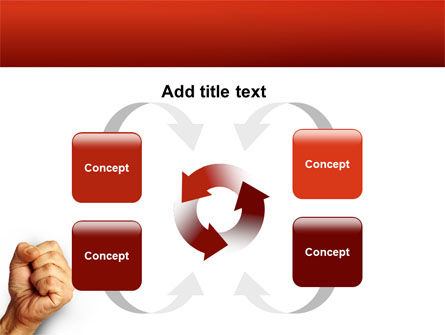Fist Of Fury PowerPoint Template Slide 6