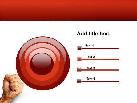 Fist Of Fury PowerPoint Template Slide 9