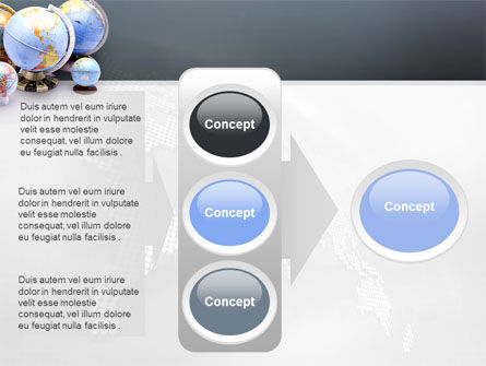 Globes Of Earth PowerPoint Template Slide 11