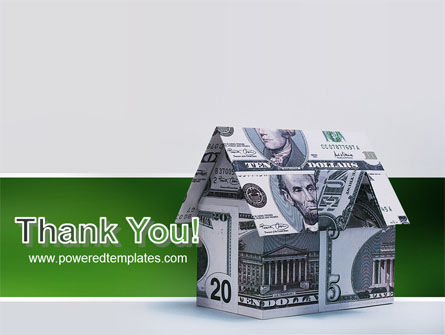 Money House PowerPoint Template Slide 20