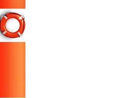 Saving Buoy PowerPoint Template, Slide 3, 02501, Business Concepts — PoweredTemplate.com