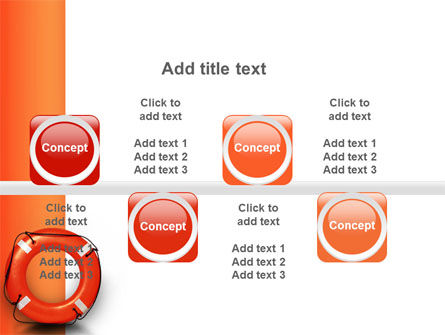 Saving Buoy PowerPoint Template Slide 19