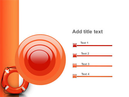 Saving Buoy PowerPoint Template Slide 9