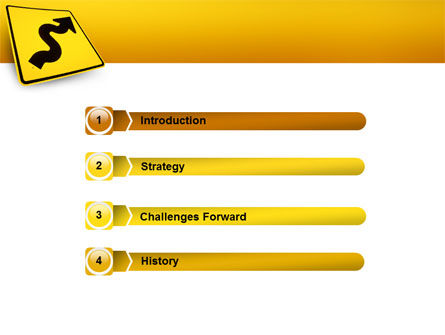 Zigzag PowerPoint Template Slide 3