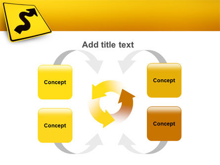 Zigzag PowerPoint Template Slide 6