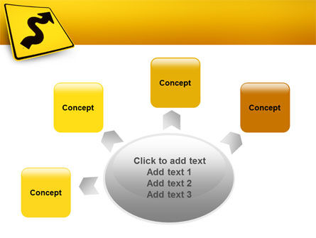 Zigzag PowerPoint Template Slide 7