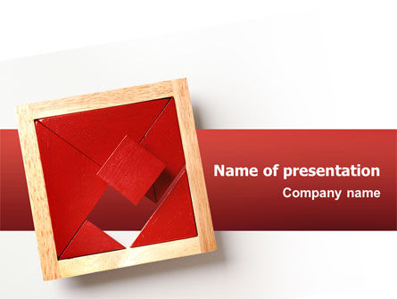 Art & Entertainment: Japanese Puzzle PowerPoint Template #02506