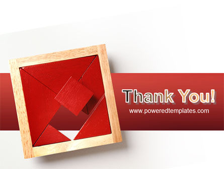 Japanese Puzzle PowerPoint Template Slide 20