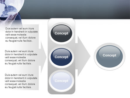 Glass Globe PowerPoint Template Slide 11