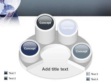 Glass Globe PowerPoint Template Slide 12