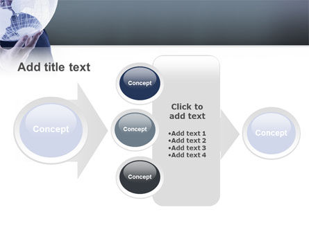 Glass Globe PowerPoint Template Slide 17