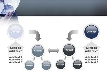 Glass Globe PowerPoint Template Slide 19