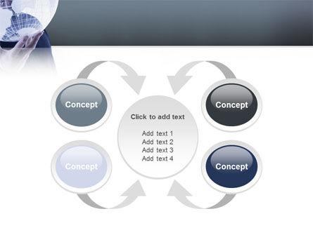 Glass Globe PowerPoint Template Slide 6