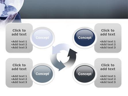 Glass Globe PowerPoint Template Slide 9