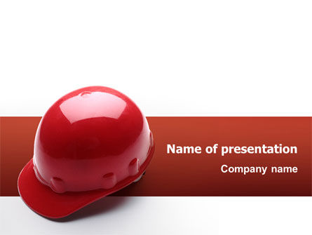 Construction: Personal Safety PowerPoint Template #02510