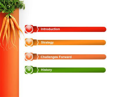 Carrot PowerPoint Template Slide 3