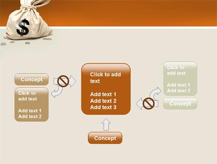 Money Bag PowerPoint Template Slide 13