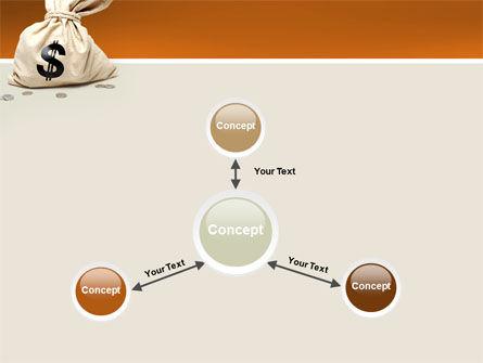 Money Bag PowerPoint Template Slide 14