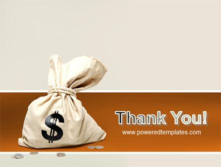 Money Bag PowerPoint Template Slide 20