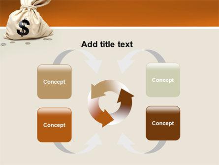 Money Bag PowerPoint Template Slide 6