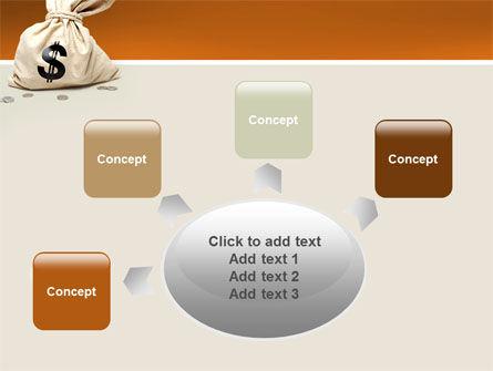 Money Bag PowerPoint Template Slide 7
