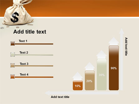 Money Bag PowerPoint Template Slide 8