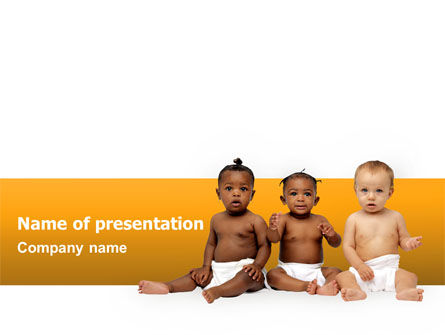 People: Nursery PowerPoint Template #02518