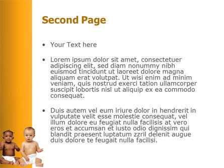 Nursery PowerPoint Template Slide 2