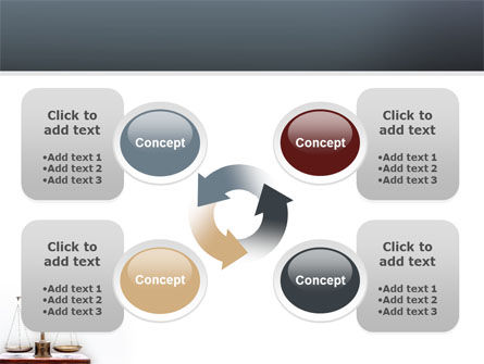 Judicial PowerPoint Template Slide 9